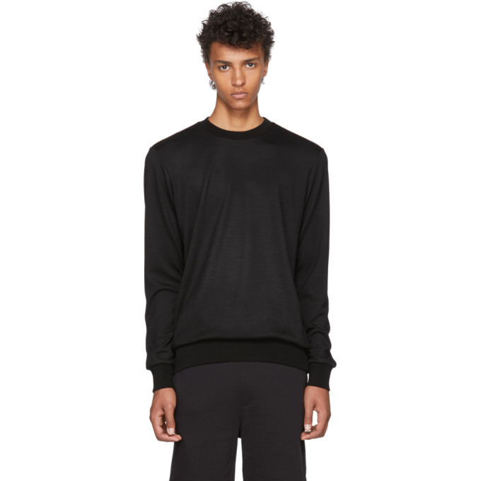 Photo: Paul Smith Black Side Stripe Sweatshirt