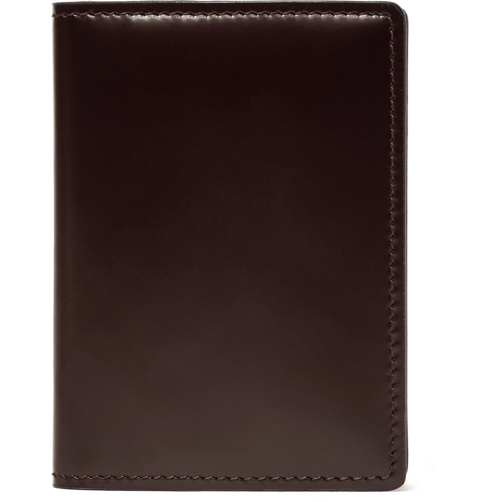 Photo: Common Projects - Leather Bifold Cardholder - Burgundy