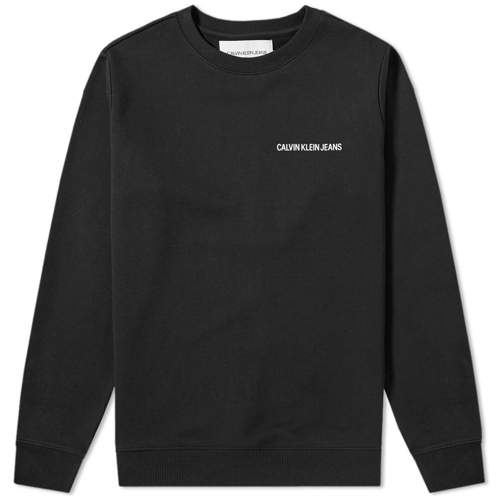 Photo: Calvin Klein Institutional Back Logo Sweat CK Black