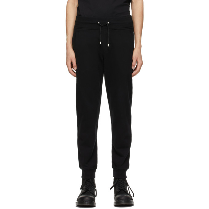 Photo: Belstaff Black French Terry Lounge Pants