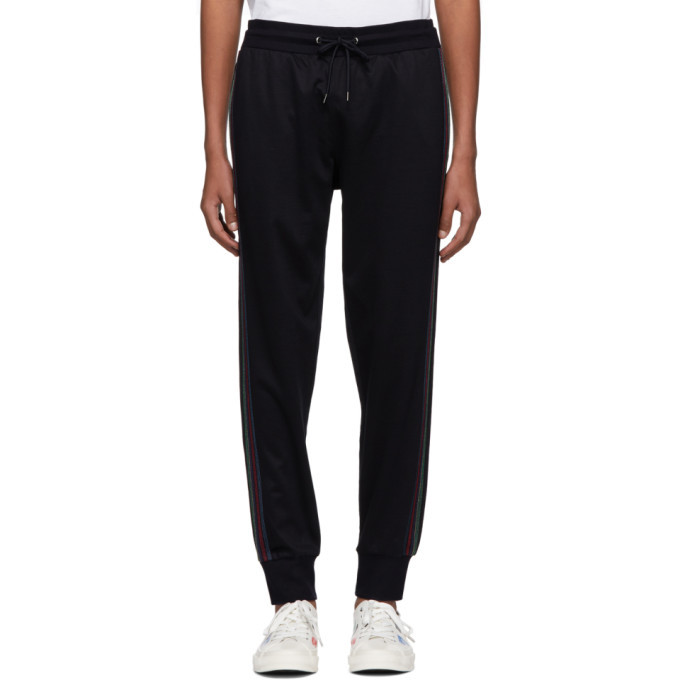 Photo: PS by Paul Smith Navy Jogger Lounge Pants