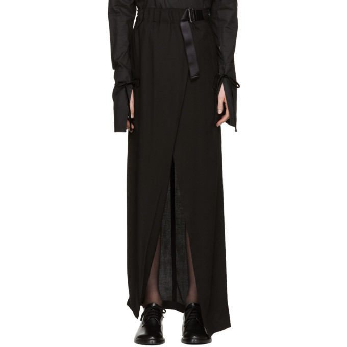 Under 50 Dollars SSENSE Exclusive Black Infinity Skirt Ann Demeulemeester Sale Big Sale 6hwWmHU