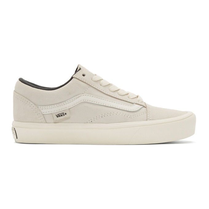 Beige Old Skool Lite LX Sneakers Vans