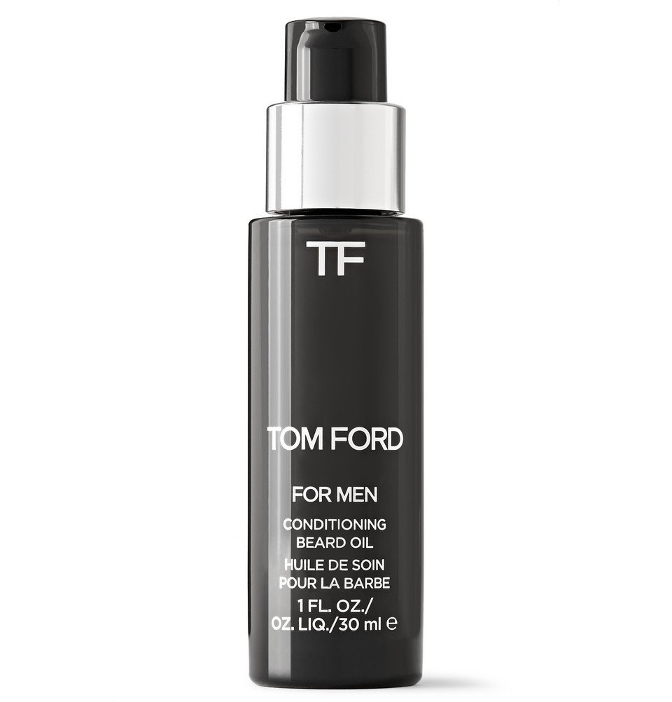 Photo: TOM FORD BEAUTY - Oud Wood Conditioning Beard Oil, 30ml - Black