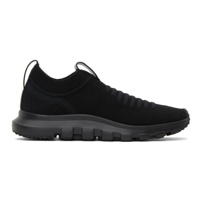 Photo: Z Zegna Black Sock 2.0 Slip-On Sneakers