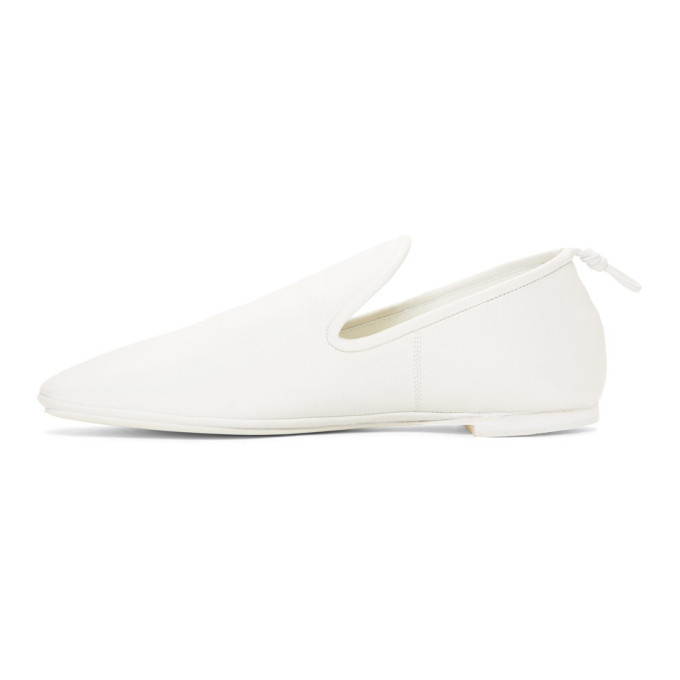 Lemaire Off-White Soft Loafers