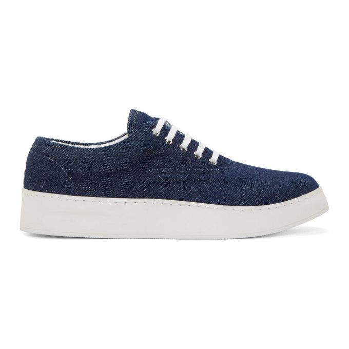 Photo: Krisvanassche Indigo Denim Sneakers