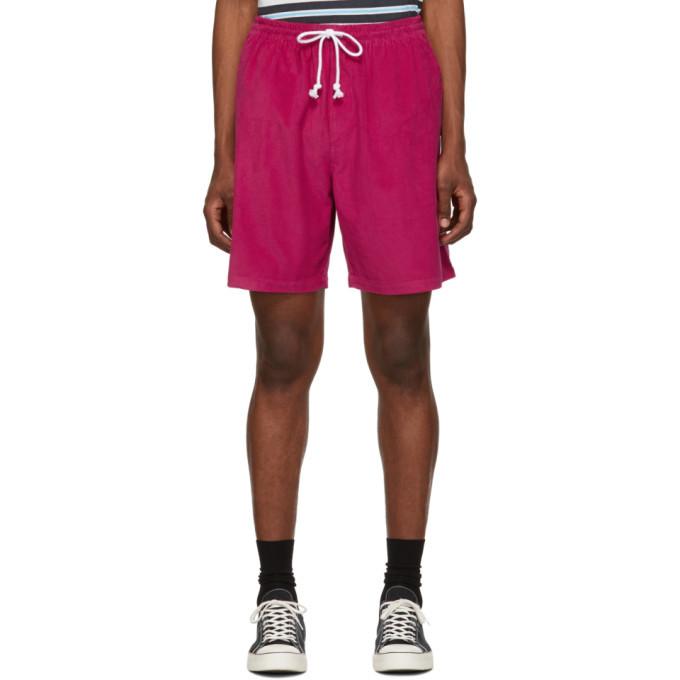 Photo: Noah NYC Pink Corduroy Drawstring Shorts