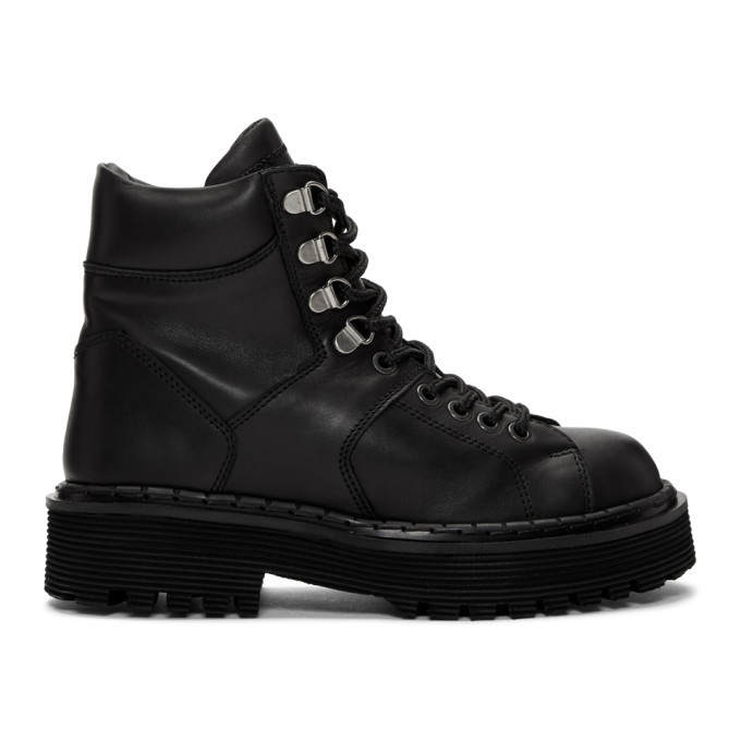 Photo: Won Hundred Black Mila Hiking Boots