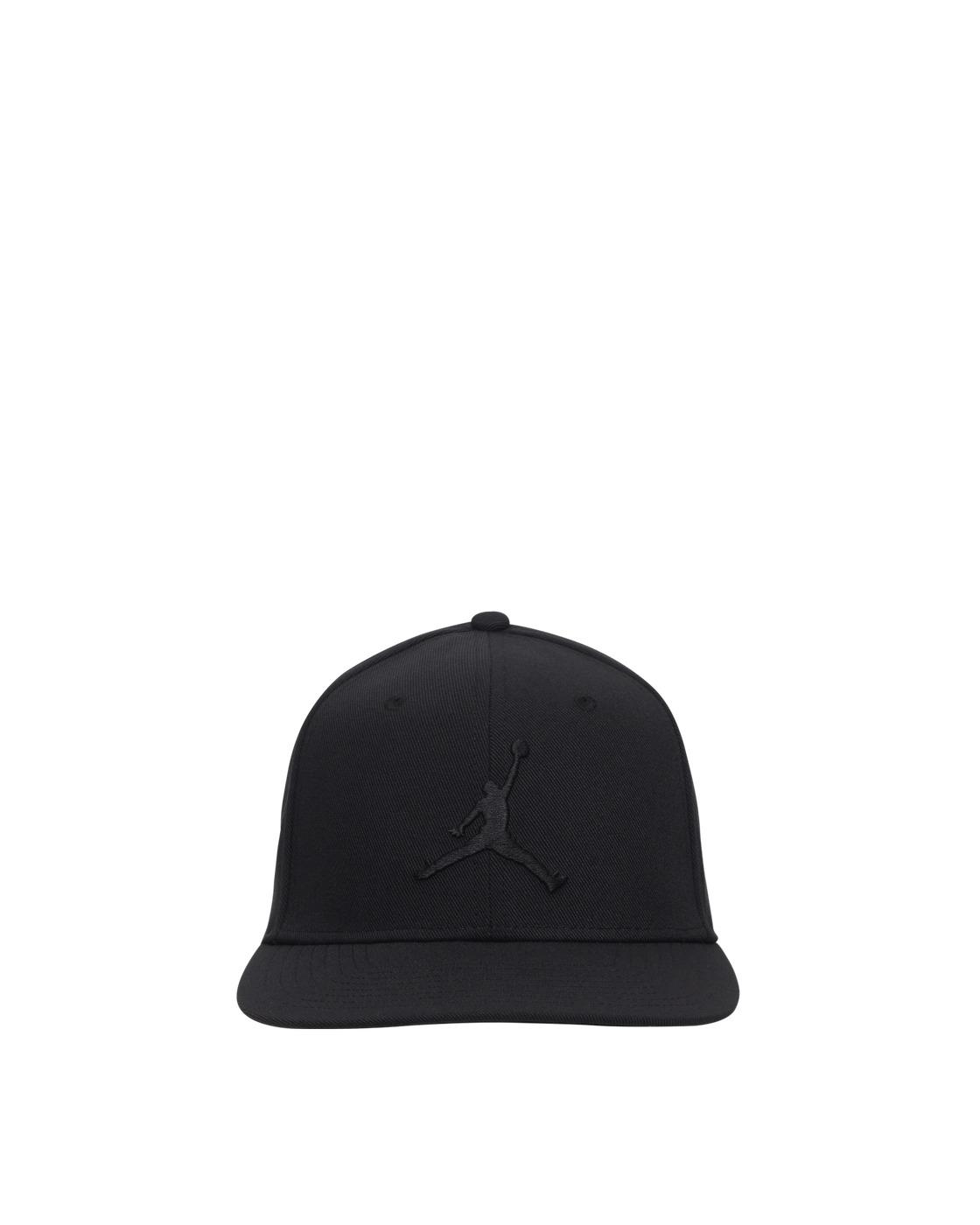 Photo: Nike Jordan Pro Jumpman Snapback Hat Black/Black