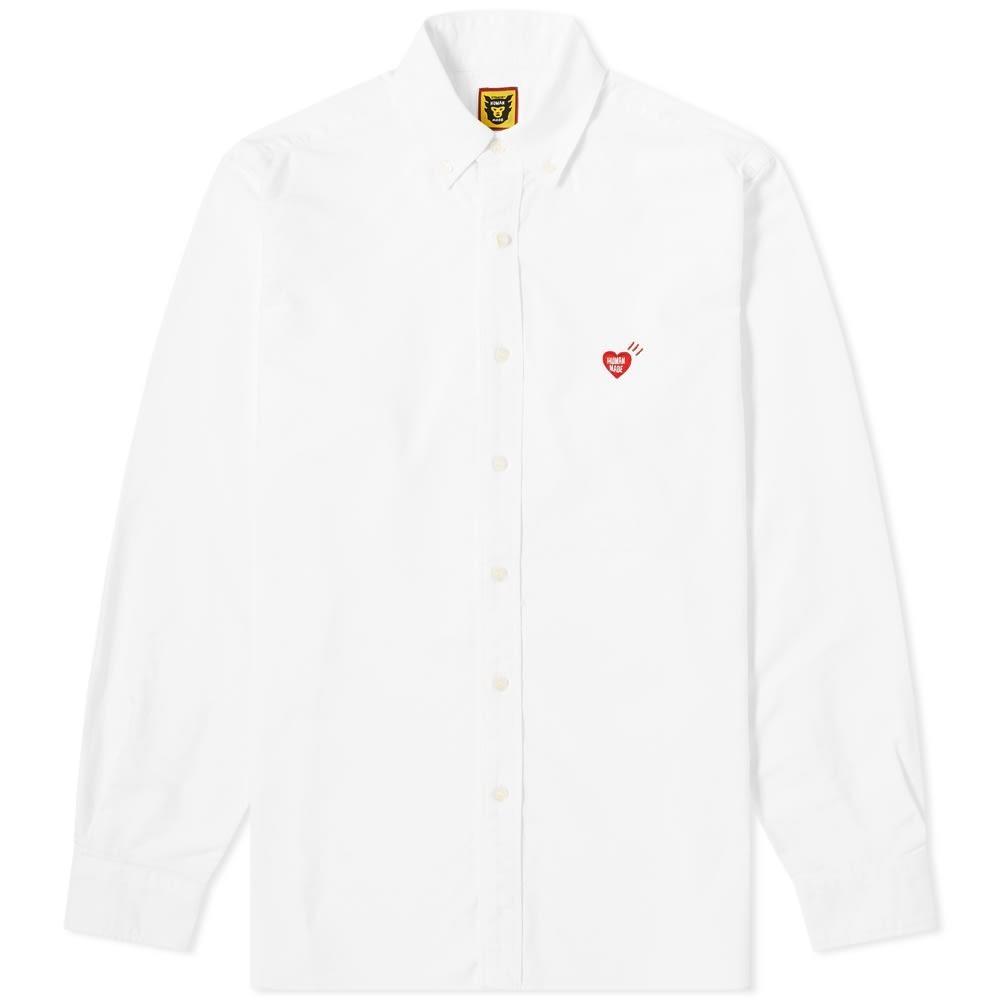 Photo: Human Made Heart Button Down Oxford Shirt