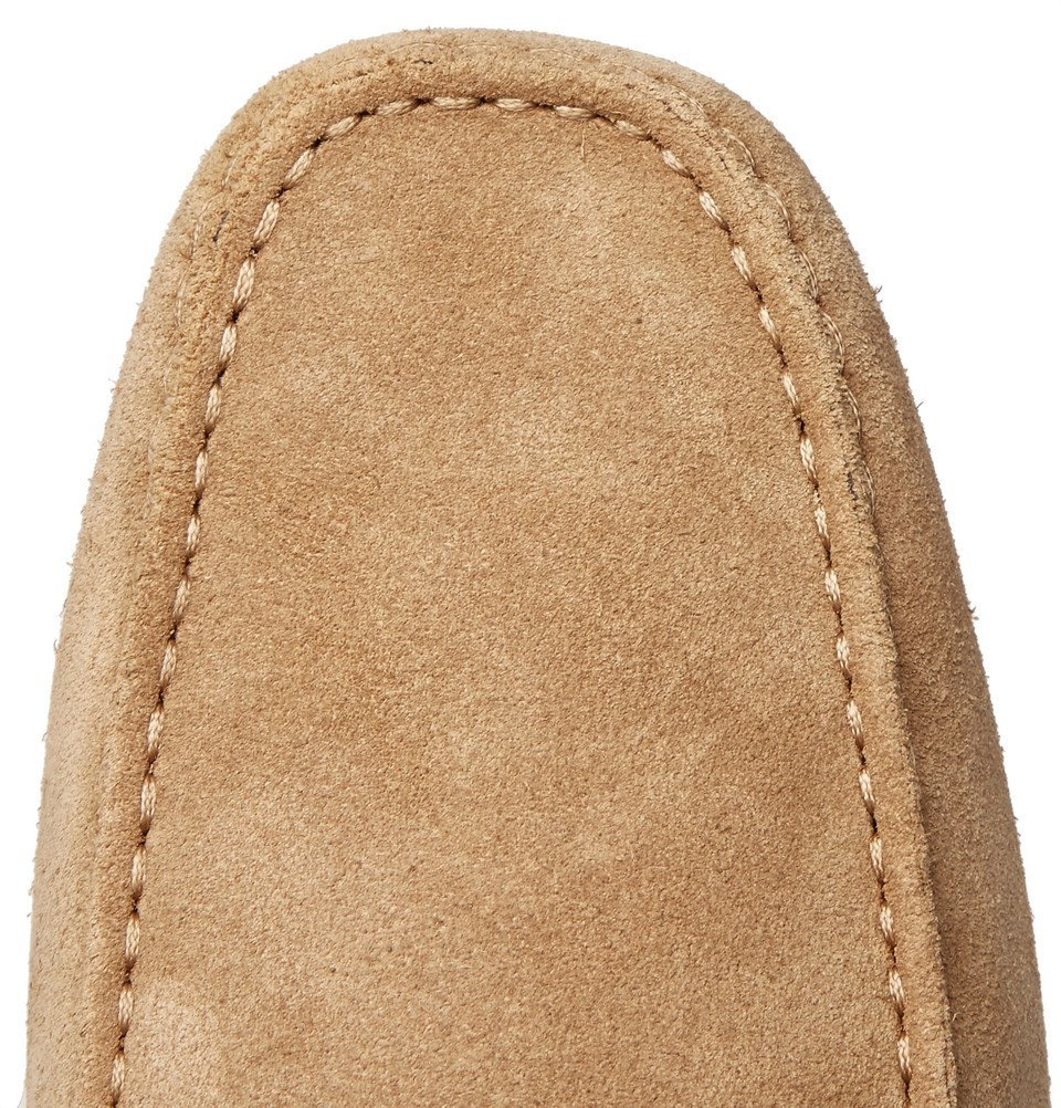 Tod's - Gommino Suede Driving Shoes - Men - Sand