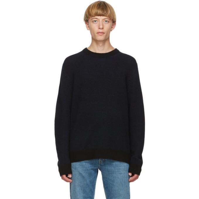 Photo: Acne Studios Black Cashmere Sweater