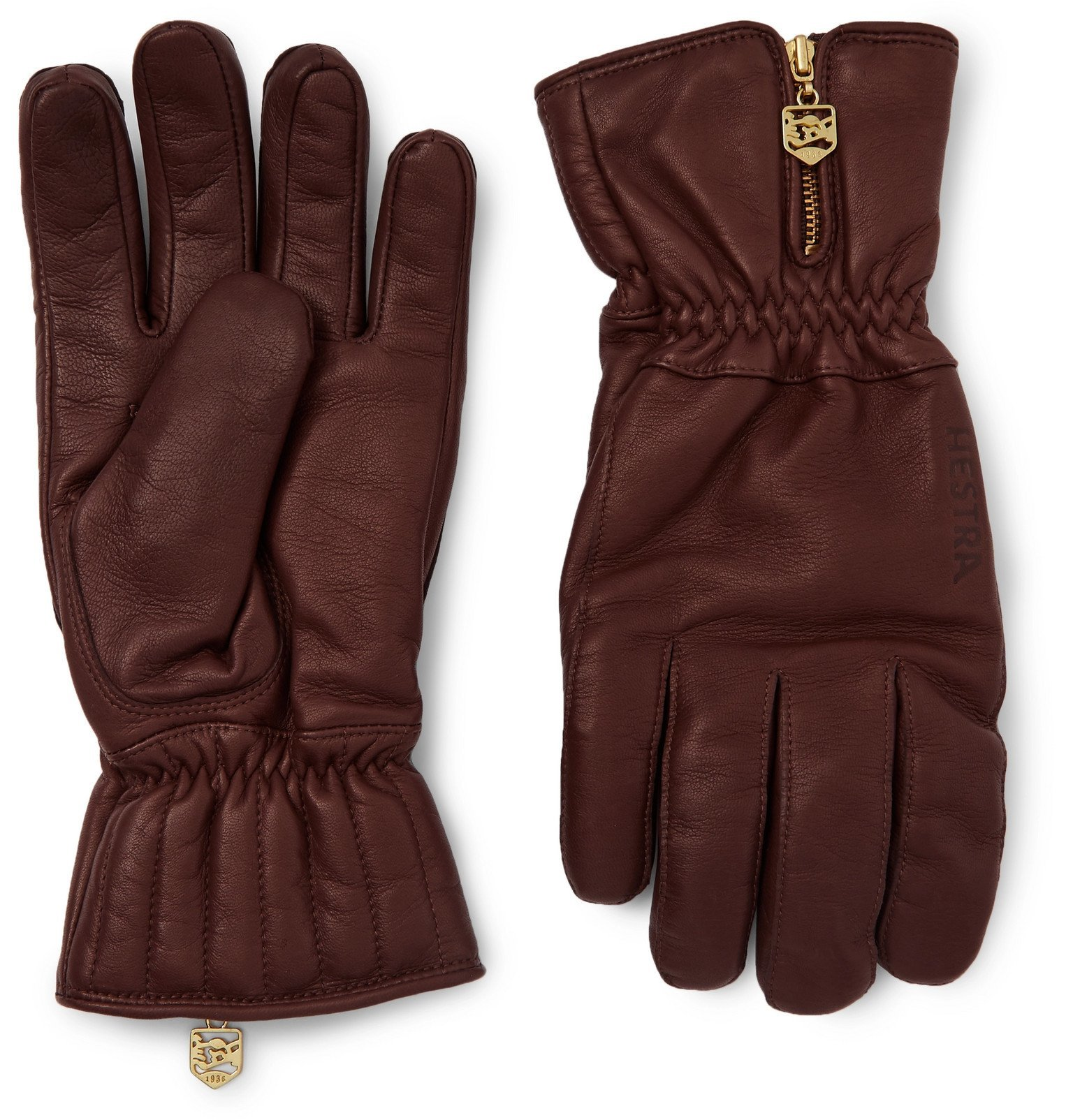 Photo: Hestra - Leather Gloves - Brown