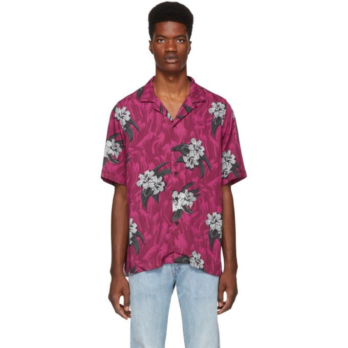 Ksubi Pink Acid Vacay Shirt
