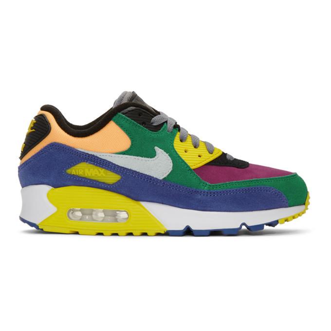 Photo: Nike Multicolor Air Max 90 QS Viotech Sneakers