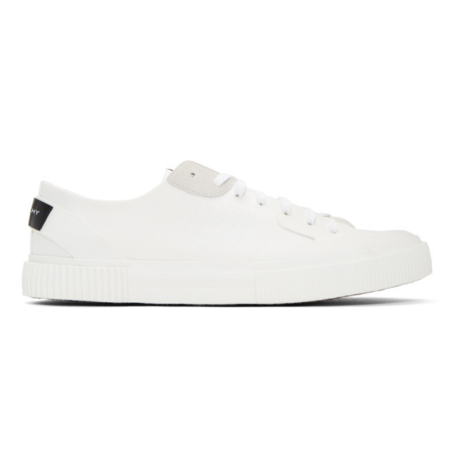Photo: Givenchy White Tennis Light Low Sneakers