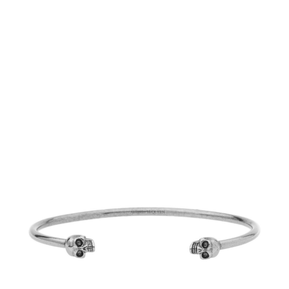 Photo: Alexander McQueen Thin Twin Skull Bracelet