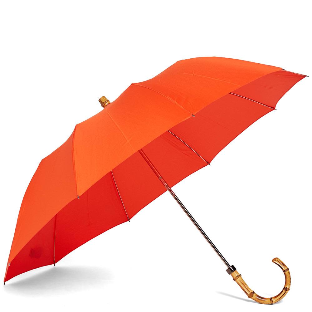 Photo: London Undercover Whangee Telescopic Umbrella Orange
