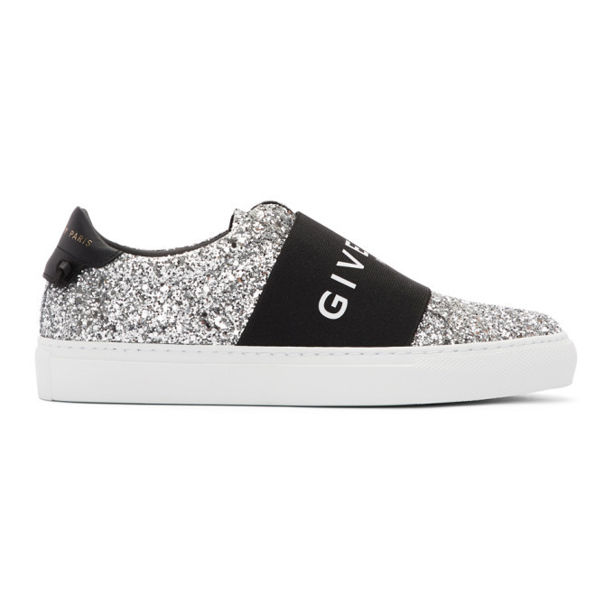 Silver Urban Street Sneakers Givenchy
