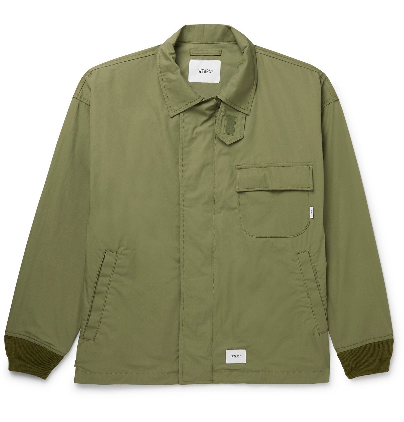 Photo: WTAPS - Printed Cotton Jacket - Green