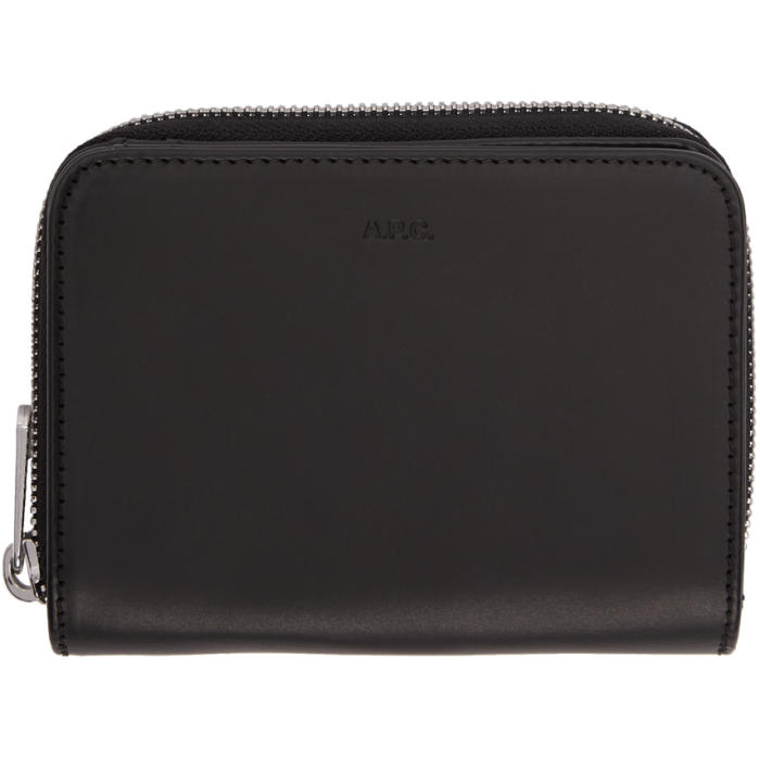 Photo: A.P.C. Black Emmanuel Pouch Wallet