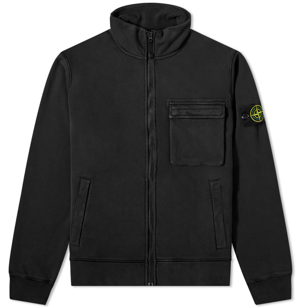 Photo: Stone Island Garment Dyed Zip Track Jacket