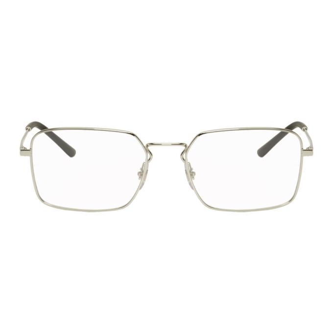 Photo: Ray-Ban Silver Square Glasses
