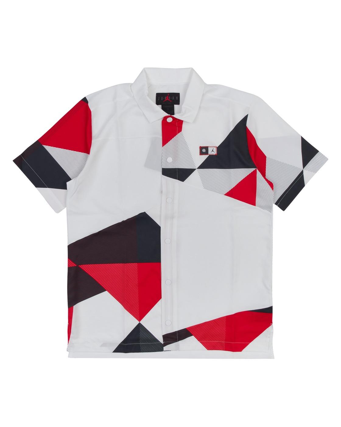 Photo: Nike Jordan Quai 54 Shooting Shirt White