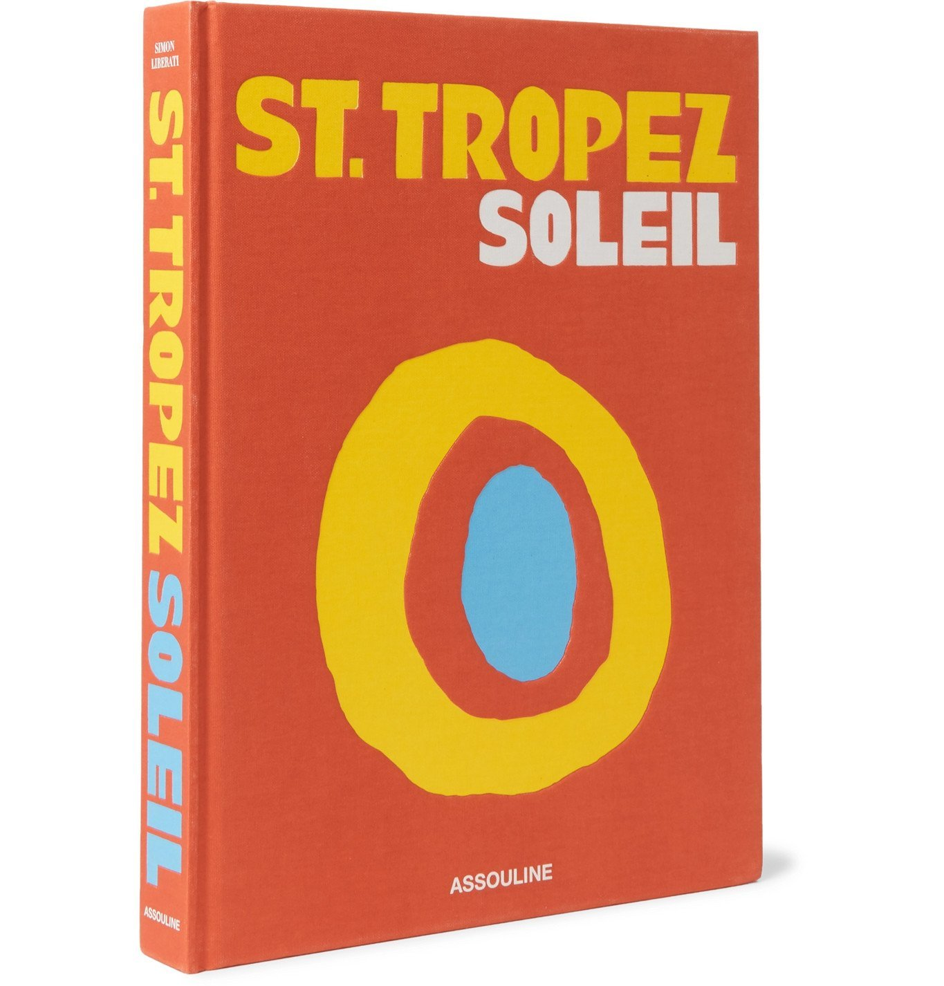Assouline - St. Tropez Soleil Hardcover Book - Orange