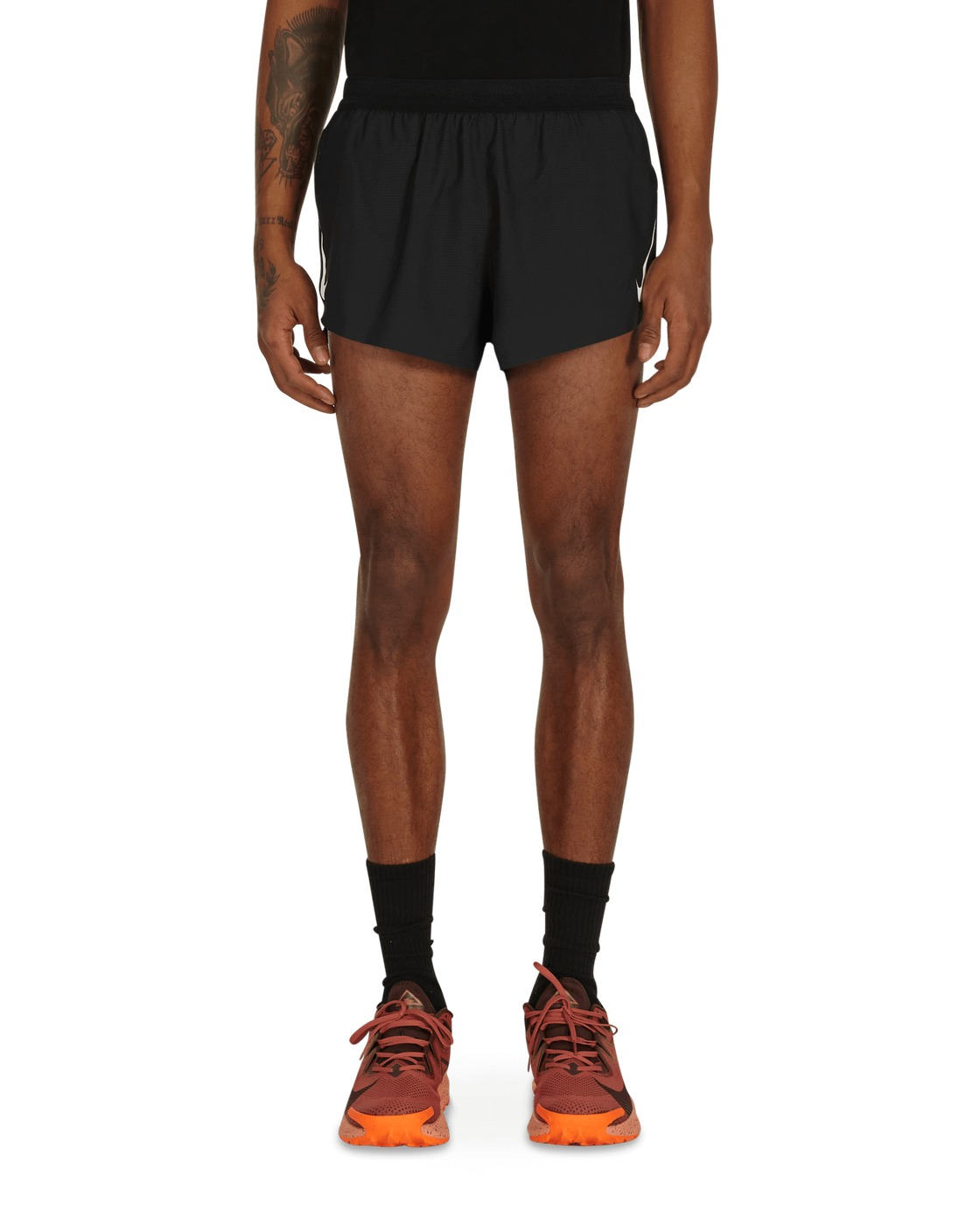 Photo: Nike Aeroswift Running Shorts Black/White