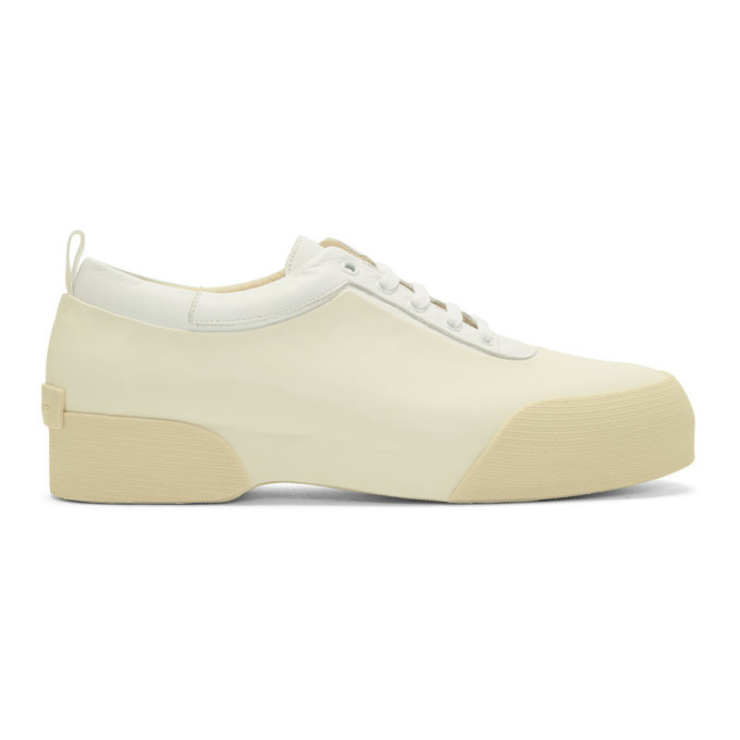 Photo: Dries Van Noten White Rubber Sneakers