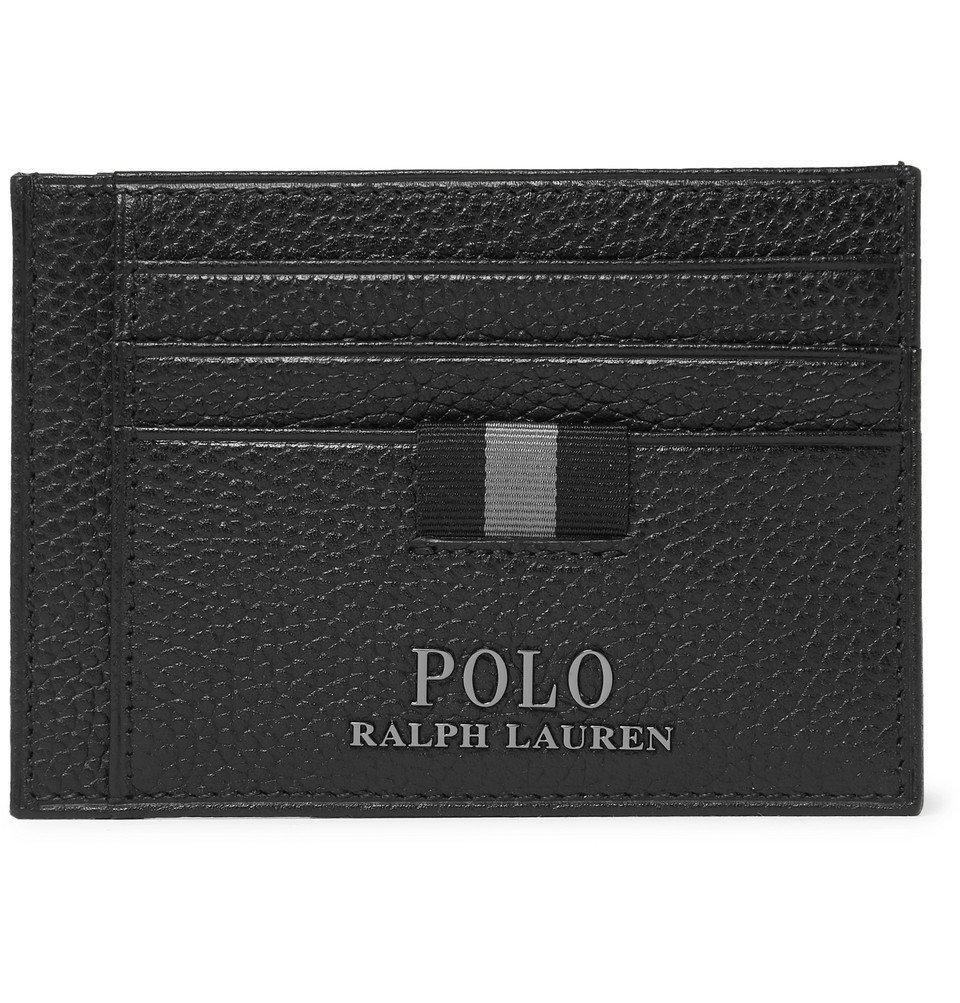 Photo: Polo Ralph Lauren - Full-Grain Leather Cardholder - Black