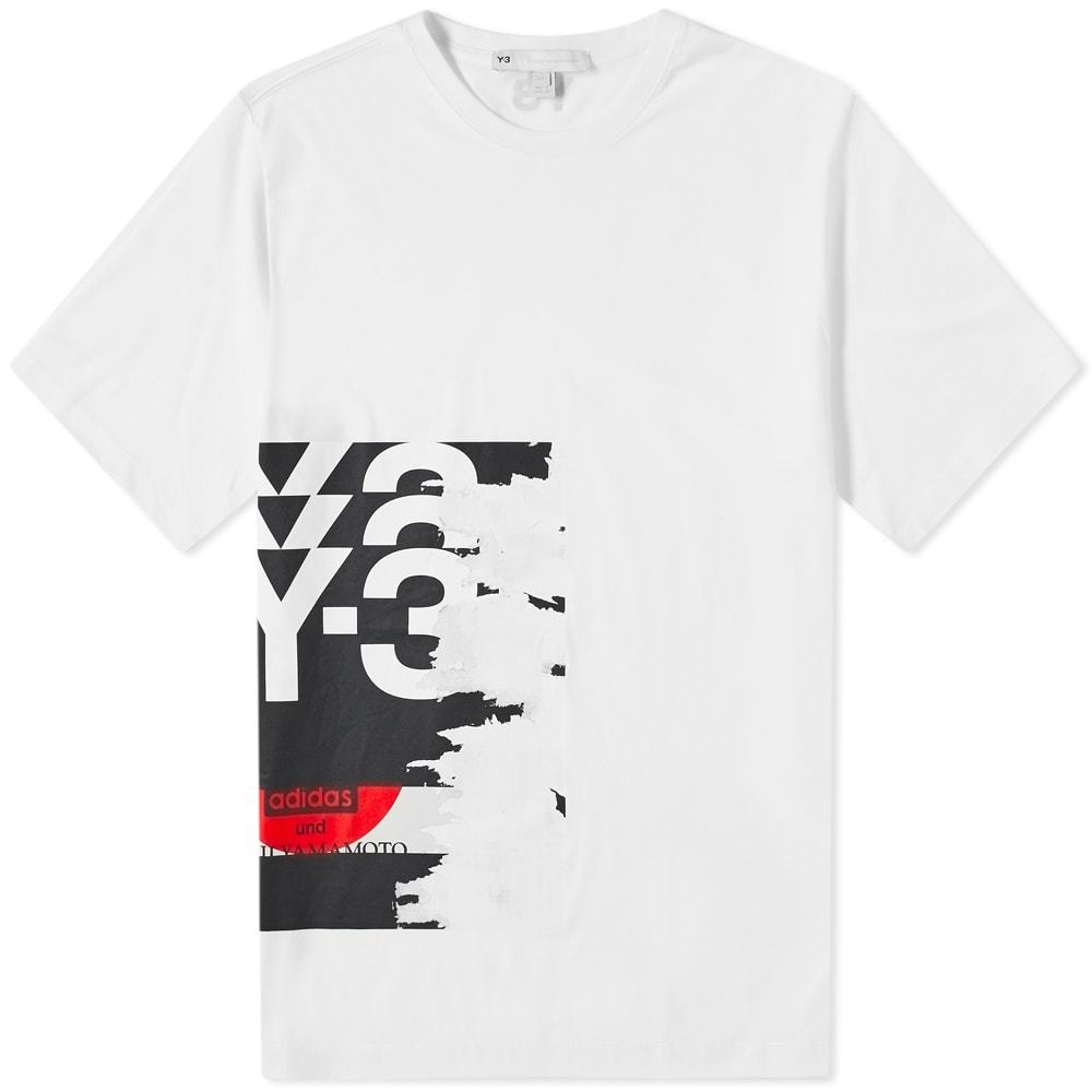 Photo: Y-3 Graphic Logo Tee