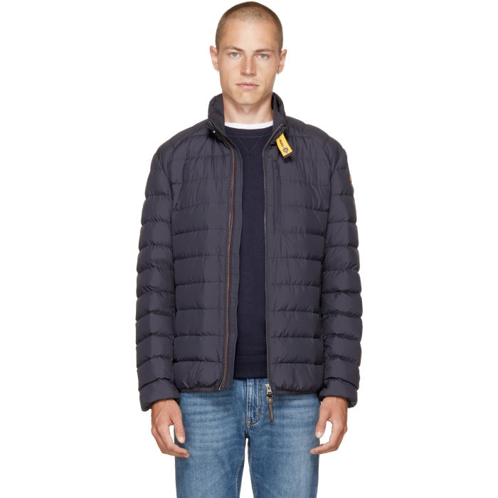 Parajumpers Blue Super Lightweight Ugo Jacket