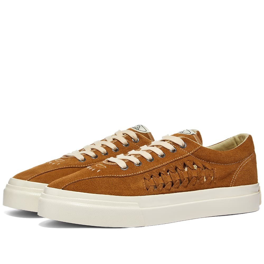 Photo: Stepney Workers Club Dellow Woven Suede Sneaker