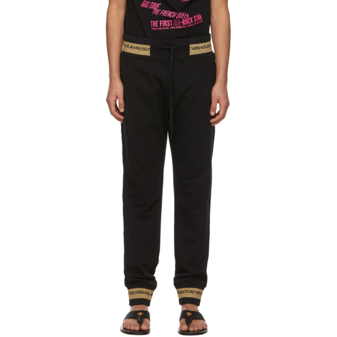 Photo: Versace Jeans Couture Black Lunar New Year Lounge Pants
