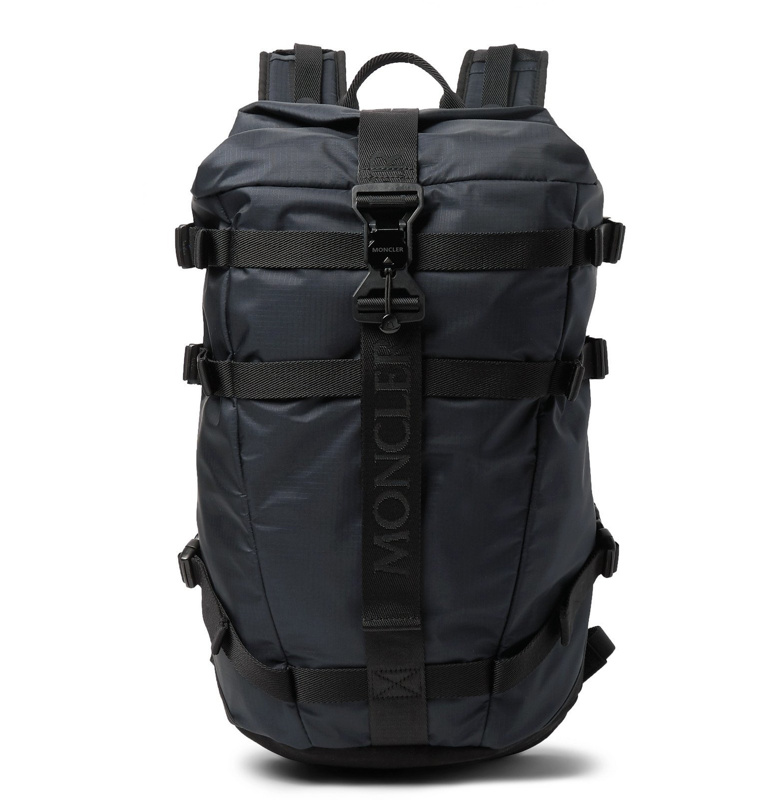 Photo: Moncler - Argens Nylon-Ripstop Backpack - Black
