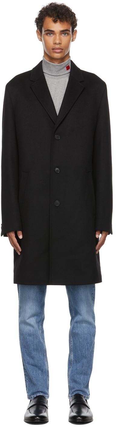 Photo: Hugo Black Regular-Fit Coat