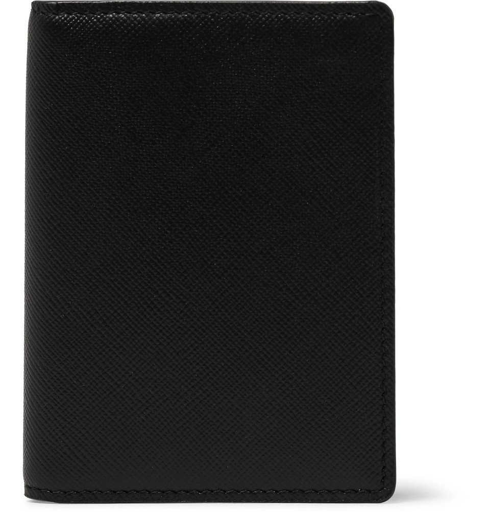 Common Projects - Cross-Grain Leather Bifold Cardholder - Black