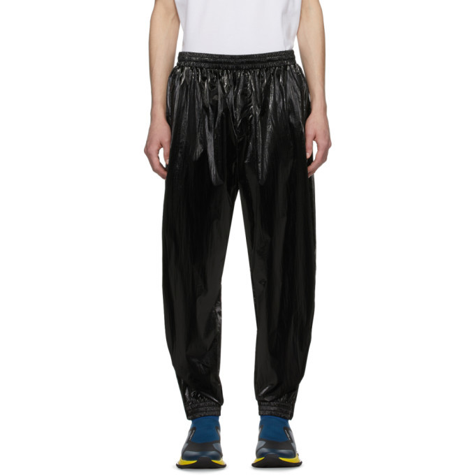 Photo: Givenchy Black Shiny Lounge Pants