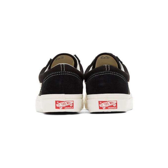Vans Black OG Style 36 LX Low Sneakers