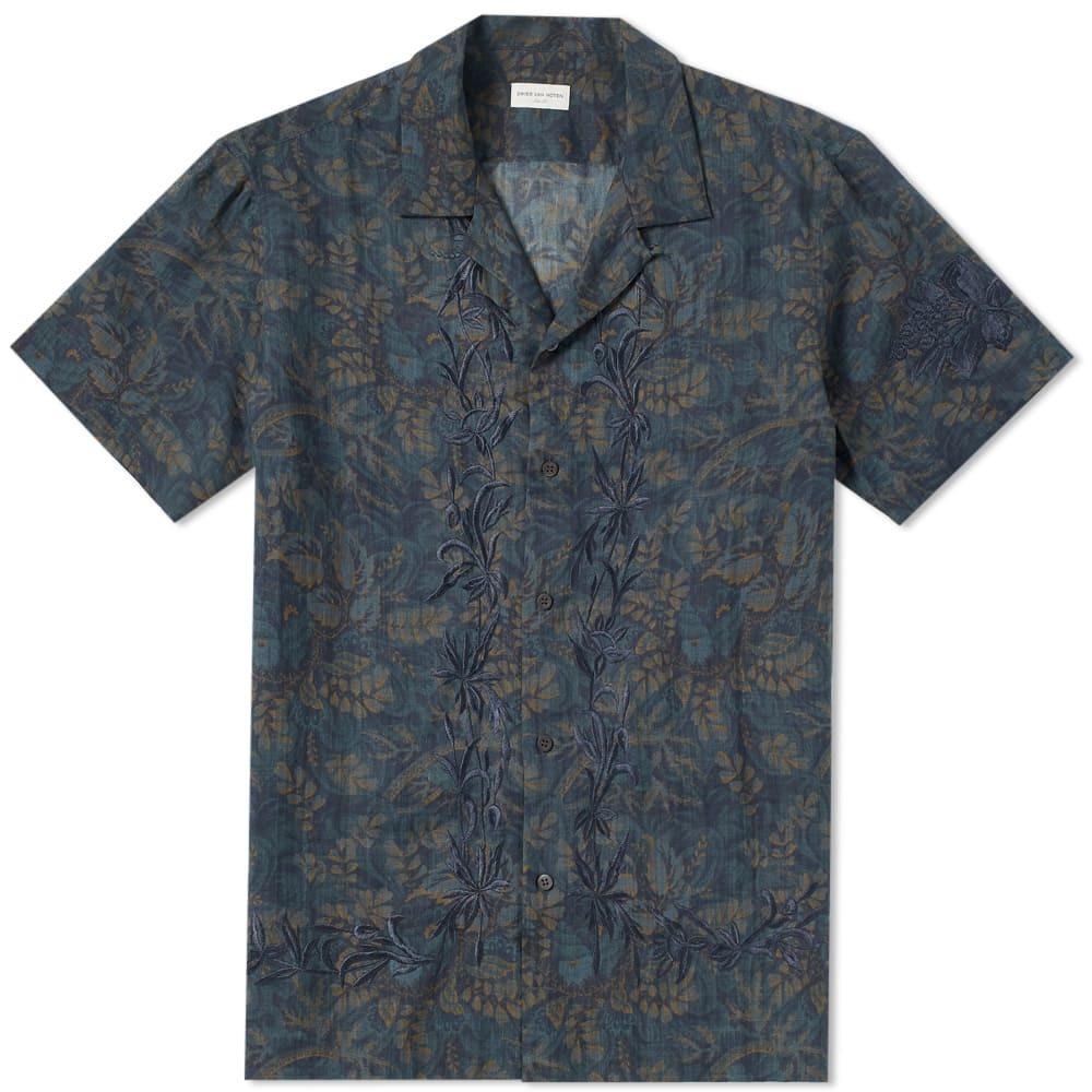 Photo: Dries Van Noten Short Sleeve Embroidered Vacation Shirt