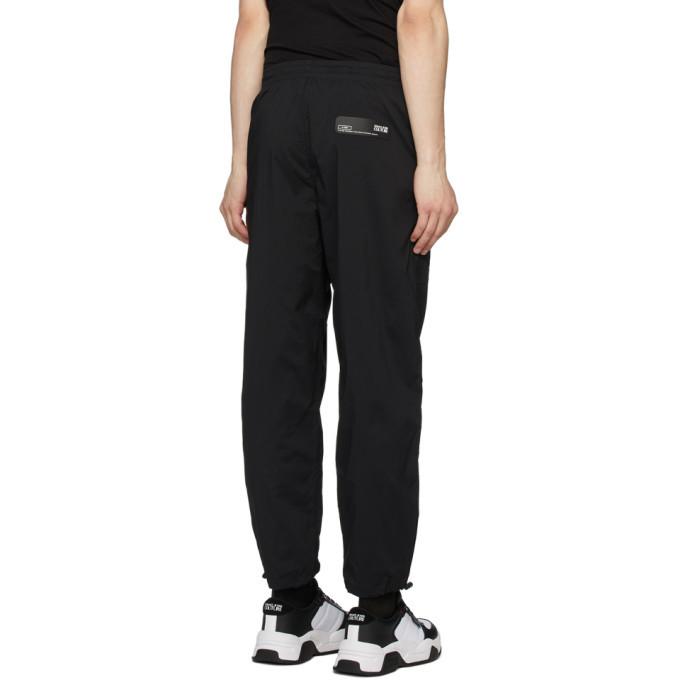 Versace Jeans Couture Black Gabardine Lounge Pants