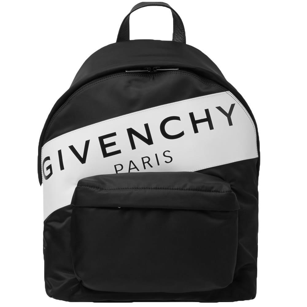 Photo: Givenchy Band Logo Backpack