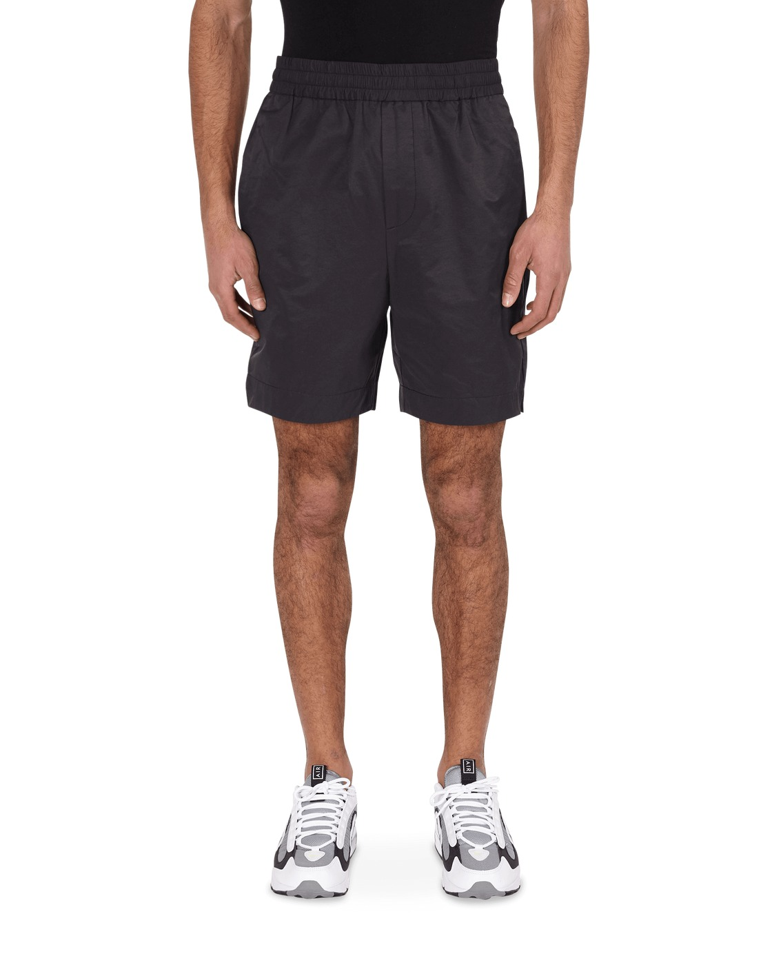 Photo: Wood Wood Baltazar Shorts Black