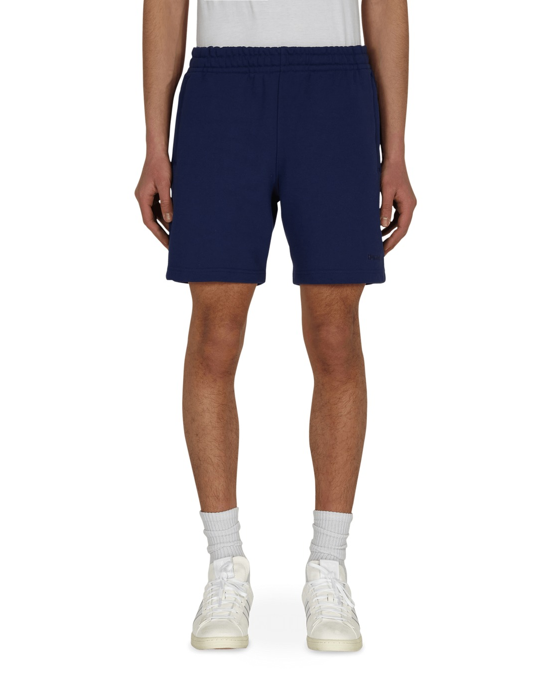 Photo: Adidas Originals Pharrell Williams Basics Sweatshorts Night Sky