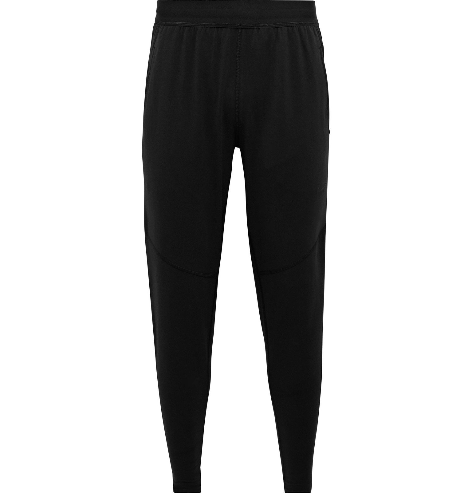 Photo: Nike Training - Nike Yoga Slim-Fit Tapered Dri-FIT Sweatpants - Black