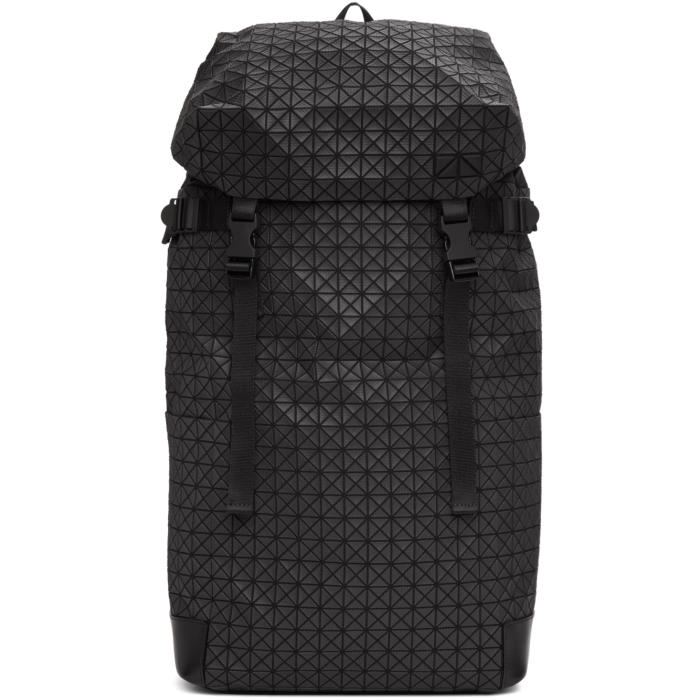 Photo: Bao Bao Issey Miyake Black Hiker Hairline Rucksack