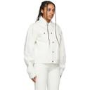 GmbH White Denim Can Jacket
